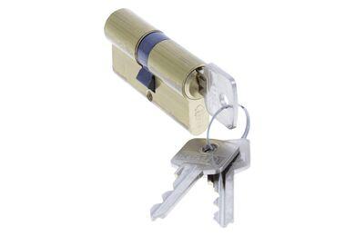 NEMEF Cilinder Messing 61mm