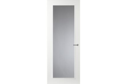 comfidoor lijndeur lauren 2115x830mm opdek linksdraaiend mat glas kastsl