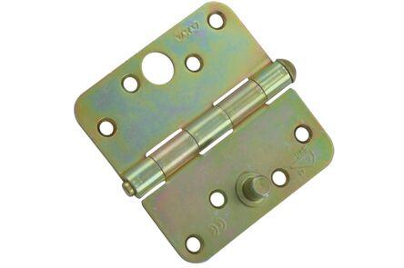 axa scharnier met ronde hoeken 1114-24-23ve 76x76mm verzinkt skg2