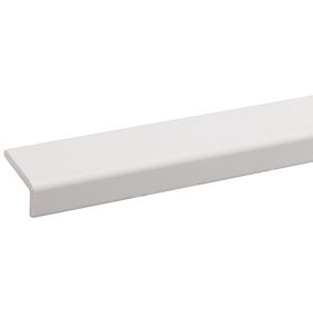 grenen hoeklat wit gegrond fsc mix 70% 21x43x2700