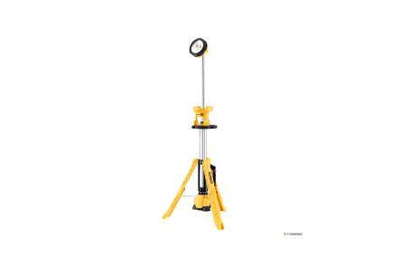 dewalt werklamp op statief xr naakt dcl079-xj 18v