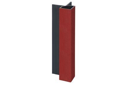 keralit hoekprofiel uitwendig 2828 rood 3011 4000mm