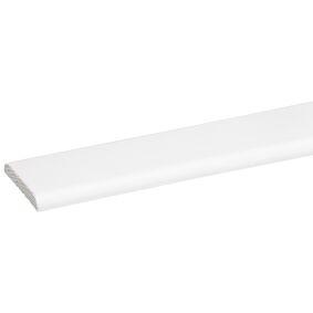 grenen deklijst wit gelakt fsc mix 70% 5x37x2700
