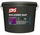 sps solodek satin latex mat wit 4ltr