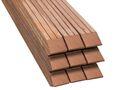 Hardhout Paal Geschaafd Gepunt FSC 68x68x3050mm