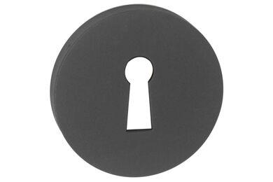 IMPRESSO Rozet Sleutel Rond Verdekt Modulair Aluminium