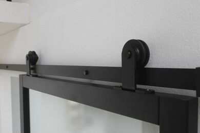 SKANTRAE SSL 4000 Blank Glas Opdekdeur FSC MAATWERK T/M 2600mm