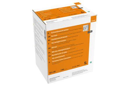 fermacell snelbouwschroeven 3,9x40mm 1000st