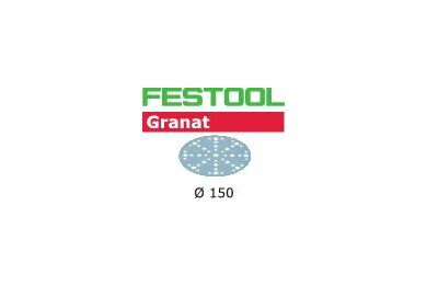 FESTOOL Schuurschijf Granat STF D150/48 P180 GR/10