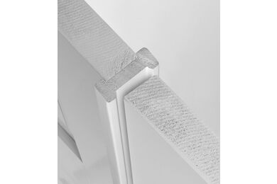 SKANTRAE Aanslaglat T.B.V. Accent/Essence/Cube/Nano Schuifdeur Wit FSC 25x61x2500mm