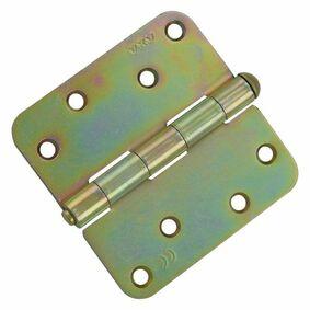 axa kogelscharnier met ronde hoeken 1105-25-23 89x89mm verzinkt (set van 3 stuks)