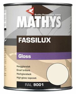 mathys fassilux gloss aflak ral9001 creme 1ltr