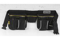 stanley gereedschapsgordel nylon dubbel 1-96-178 zwart