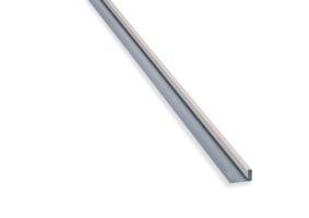 eternit aluminium eindprofiel roomwit c07 3000mm
