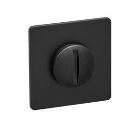 comfidoor toiletgarnituur slim square black