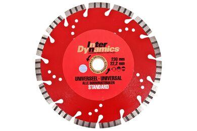 INTERDYNAMICS Diamantblad 125mm
