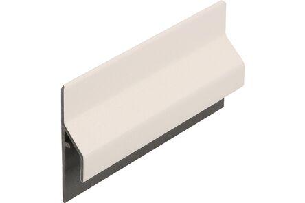 keralit aansluitprofiel 2843 trim/kraal classic wit 9016 6000mm