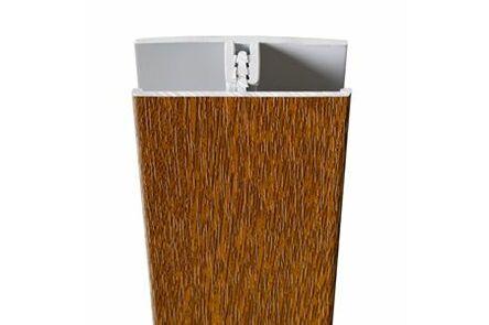 protex koppelprofiel golden oak 3000mm