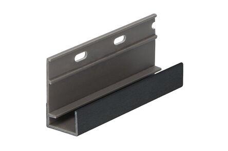 keralit omrandingsprofiel 2809 classic zwart 9005 4000mm