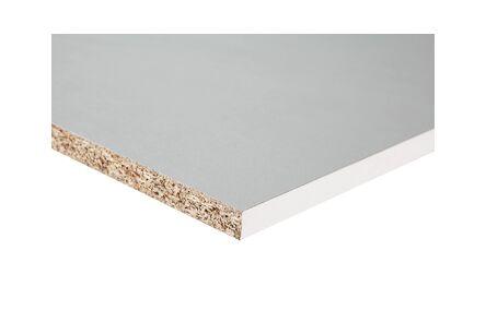 meubelpaneel 120gr gemelamineerd wit kantfolie 1mm abs 3050x400x18
