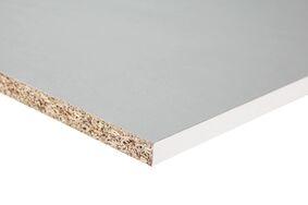 meubelpaneel 120gr gemelamineerd wit kantfolie 1mm abs 3050x300x18