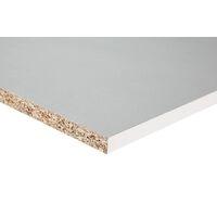 <p>Spaanplaat meubelpaneel is opgebouwd uit drie lagen houtvezels. Aan beide zijden voorzien van een decoratieve en licht gestructureerde op de plaat geperste geimpregneerde papierlaag. Vanwege zijn sterk schroefbare kern is de plaat goed te verwerken en te gebruiken voor verschillende doeleinden.</p>