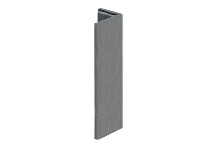 keralit eindprofiel 2806 classic grijs 7001 4000mm