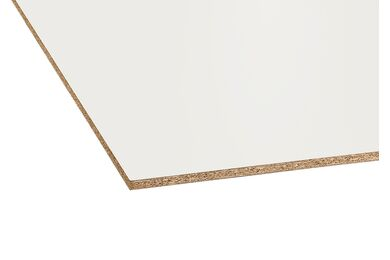 Plastitex Spaanplaat Met Witte Melamine Toplaag 2500x1250x16mm