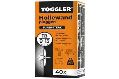 TOGGLER TB Hollewandplug 9-13mm