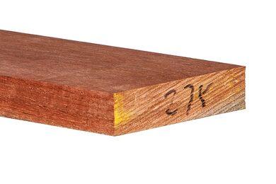 Meranti Plank Geschaafd 28x120x4000mm