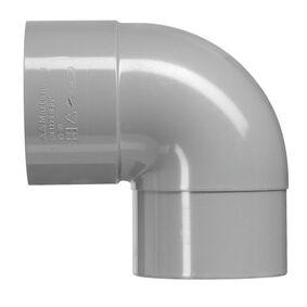 hwa bocht 90° 80mm mof/spie grijs