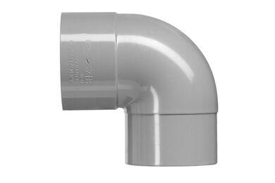 MARTENS PVC Bocht HWA 1 x Lijmmof 87° 80mm