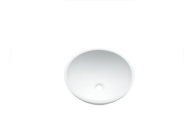 Krion Solid Surface Spoelbak B209 E Snow White 371x371x160mm