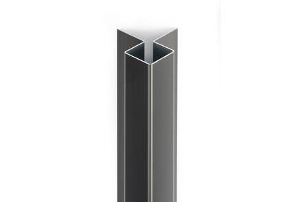 cedral buitenhoek click c15 asgrijs aluminium 3000mm
