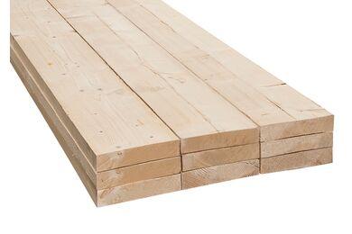 Vuren C Plank Ruw FSC 32x125x5400mm