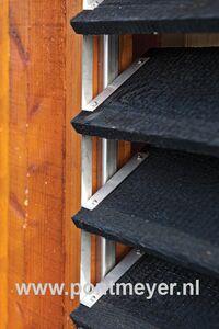 flex-fence rvs-set (exclusief hout) zelfbouw 165cm