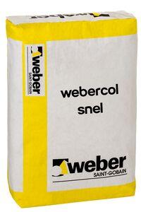 Weber color LC 240 Snellijm Grijs Zak 25kg