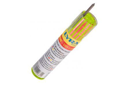 lyra dry reservestiften koker (set van 12 stuks) zwart/rood/geel