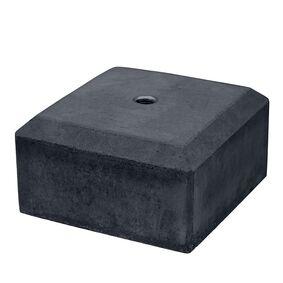 betonpoer mini antraciet met velling 180x180x100