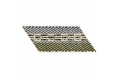 DEWALT DNPT28R63G12Z Papiergebonden Nagel Geringd 33° 2,8x63mm