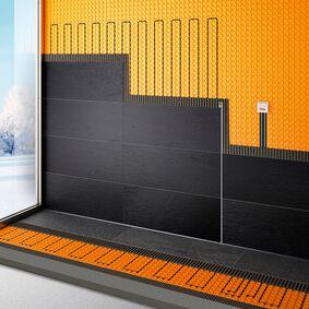 elektrische vloer en wandverwarming set met wifi  4,8m2