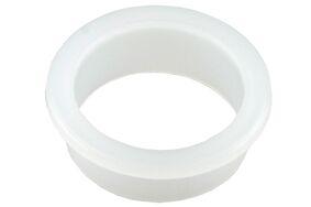 deurkruklager nylon 18mm wit (set van 5 stuks)