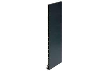 keralit dakrandpaneel 2835 classic antraciet 7016 350x20x10 6000mm