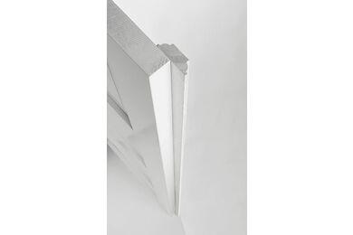 SKANTRAE Aanslaglat T.B.V. Original Draaideur Wit 14x45x2500mm