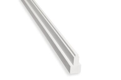 Hardhout Kozijnprofiel Middenstijl B Gevingerlast Gegrond 66x110x5900mm