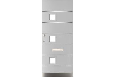 WEEKAMP Voordeur Tricomfort WK2033 Voorbehandeld Wit FSC 930x2115mm