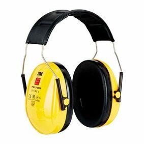 3m peltor gehoorbescherming 27db optime-1 geel