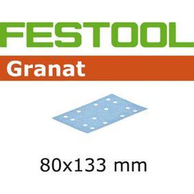 festool granat schuurstrook stickfix p80 80x133mm (set van 10 stuks)