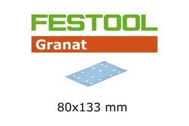 FESTOOL Schuurstroken Granat STF 80x133 P80 GR/10