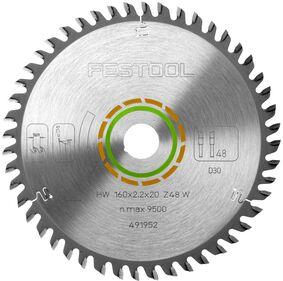 festool cirkelzaagblad fijngetand w48 160x2,2x20